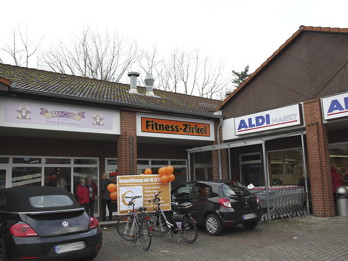 Studio des Fitness-Zirkels von außen
